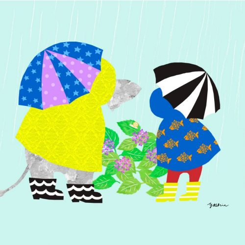 Rainy day fun.2 「雨の日は楽し. 2」