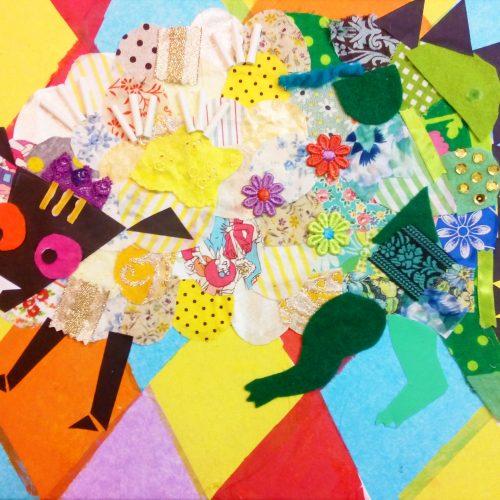 Collage Art Workshop 'Imaginary Animal' コラージュWS・空想アニマル
