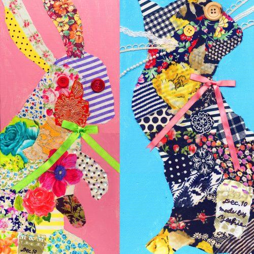 Collage Art Workshop 'Animal Silhouette' コラージュWS・アニマルシルエット