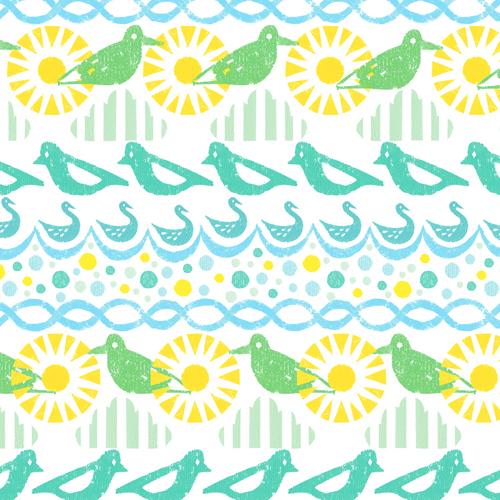 Bird and sunshine「おひさまどり」