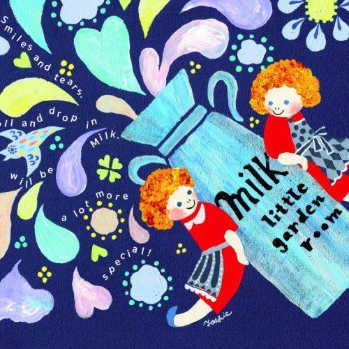 Bespoke illustration・MILK・オーダーメイドのイラスト